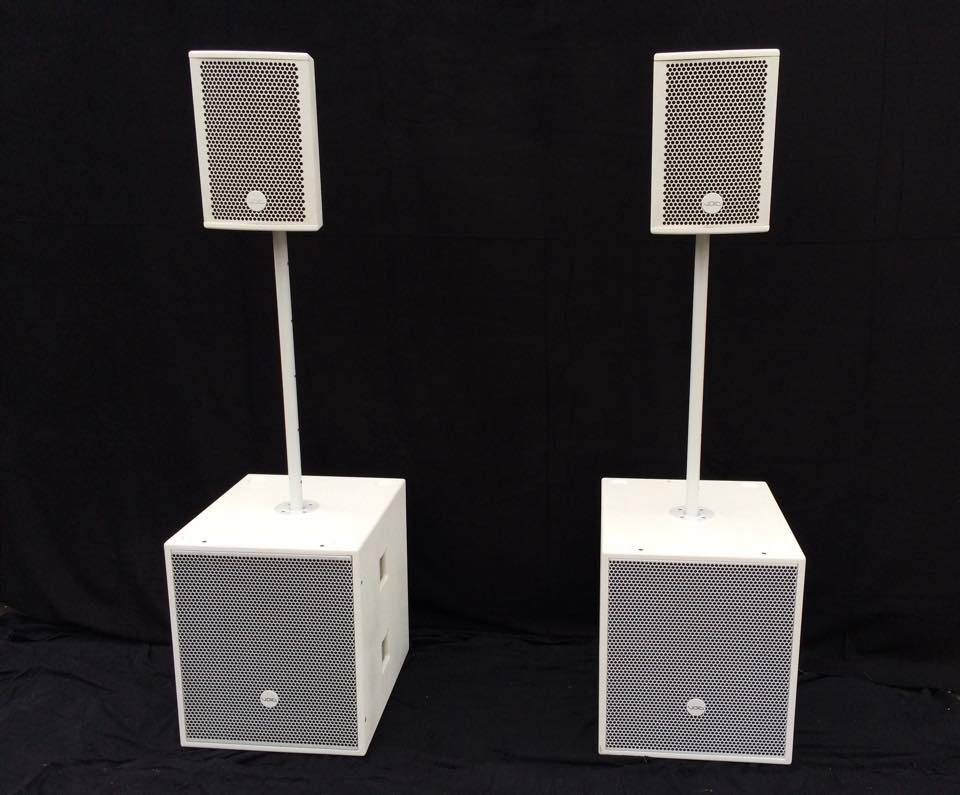 Void Acoustics Wedding System in White
