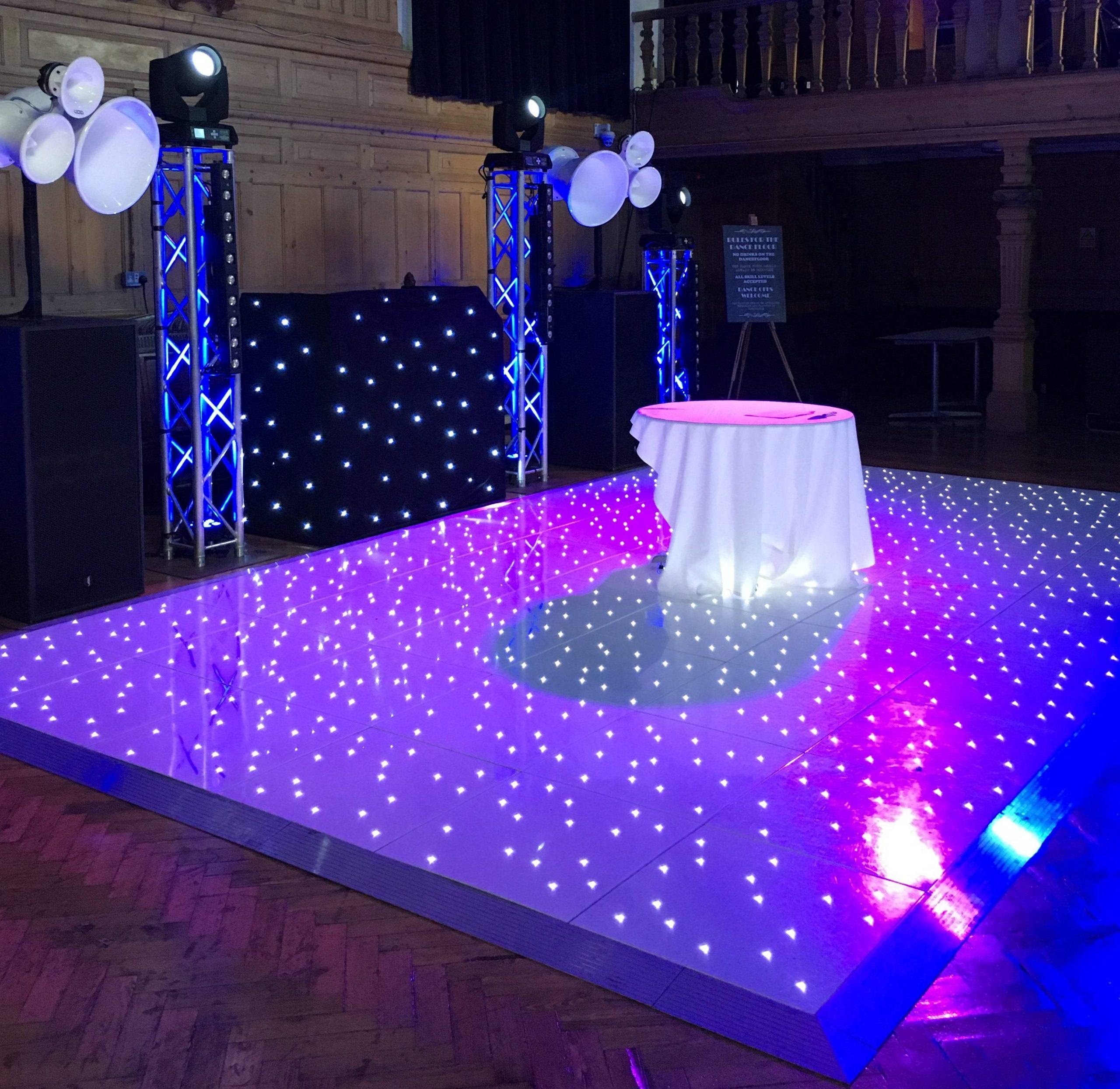 LED Dancefloor Hire