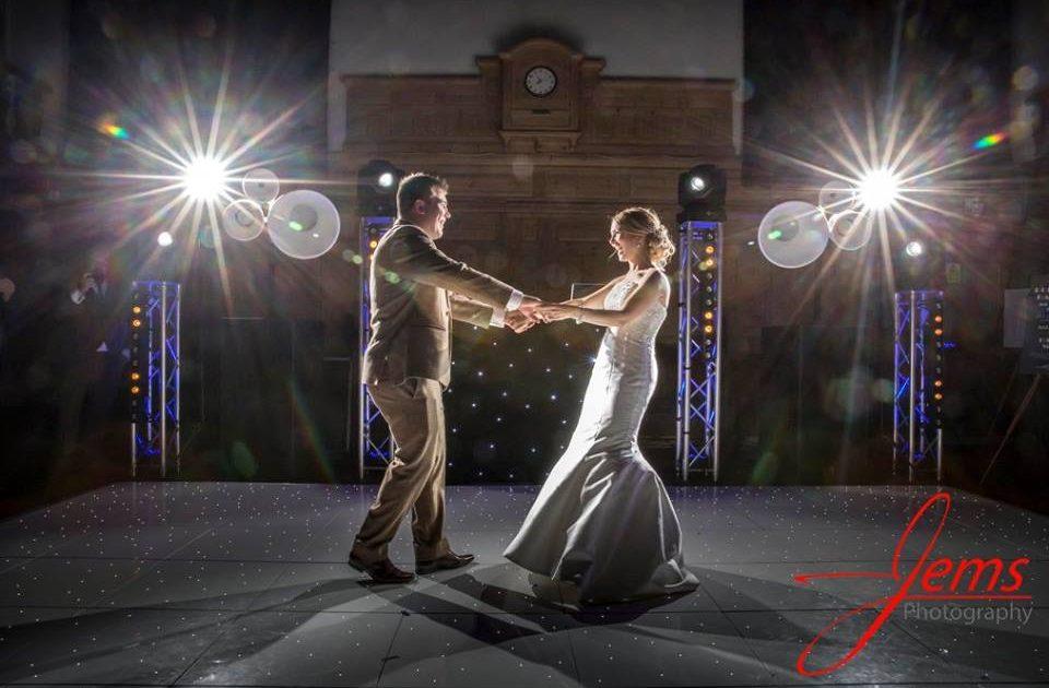 Wedding Entertainment LED Dancefloor Hire