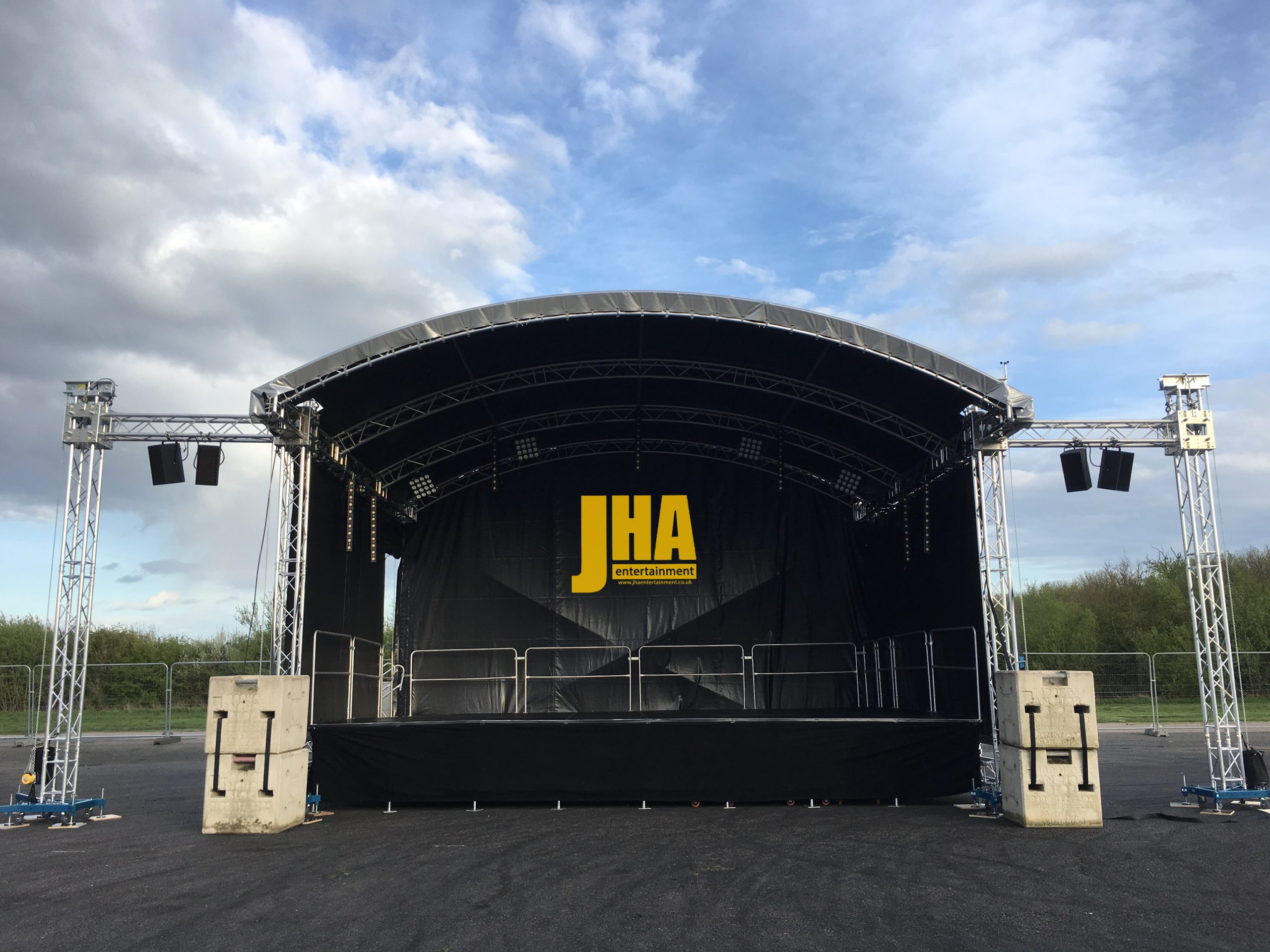 8x6m Roof Stage